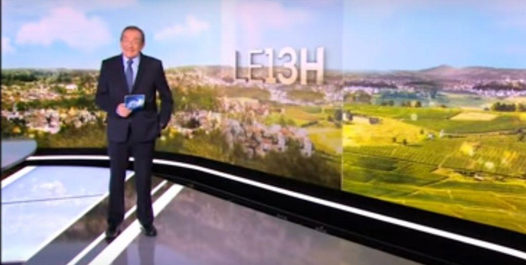 JPP au journal de 13 heures de TF1