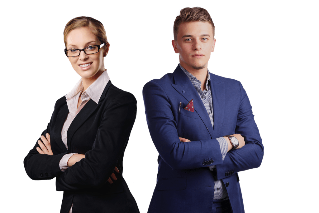 Femme et homme, Key account managers